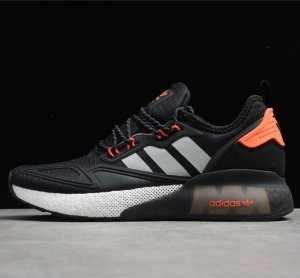 ZX 2K BOOST 黑银橙 FY5725 39 40 40.5 41 42 42.5 43 44 44.5 45